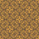 Yellow seamless pattern — Stock Vector