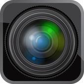 Lens icon — Stock Vector