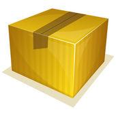 Paquete paquete — Vector de stock