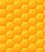 Honeycomb wallpaper pattern — Stock Vector