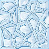 Ice seamless pattern — Stock Vector
