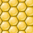 Honeycomb wallpaper pattern — Stock Vector