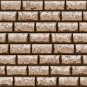 Dirty brick wall seamless pattern — Stockvektor