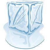 Ice cube — Stock Vector