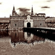 Stock Photo: Elsinore Moat