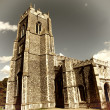 Stock Photo: loddon church