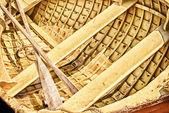 Canoa amarilla — Foto de Stock