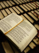 Hymnal — Stock Photo