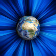 Blue earth — Stock Photo