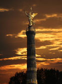 Berlin Siegessaeule, victory column — Stock Photo