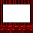 Royalty-Free Stock Photo: Red room cinema