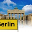 Brandenburg gate — Stock Photo #29816007