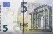 5 euro — Stock Photo