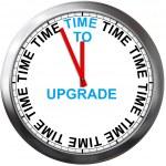 tiempo para actualizar — Foto de Stock