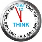 tiempo para pensar — Foto de Stock