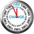 Foto de Stock  : Time for Change