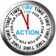 Time for Action — Stock Photo #38077103