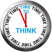 Düşünmek için zaman — Stok fotoğraf