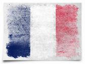 Grunge French Flag — Stock Photo