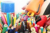 Lápis de cores diferentes — Fotografia Stock