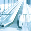 Escalator indoor shopping mall — Stock Photo #16644233