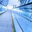 Stock Photo: Steps of escalator in business center