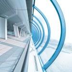 Perspective airport interior in futuristic style — Stock Photo #16955903