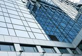 当代设计的玻璃的摩天大楼,商业背景 — 图库照片