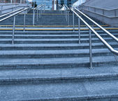 オフィス センターに近いモダンな階段 — ストック写真
