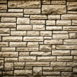 Persistence concept, background of brick wall texture — Stock Photo #17059691