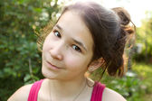 Cute young girl — Stock Photo