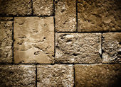 Dark brick wall structure — Stock Photo