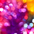 Royalty-Free Stock Photo: Glitter of color Christmas lighting background