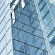 Perspective glass corner of office building — Stock Photo #17118803