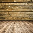 Royalty-Free Stock Photo: Background of an old wood messy and grungy texture
