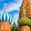 Stock Photo: St. Basil's Cathedral on Red square, Moscow, Russia