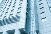 Contemporary texture of modern downtown, management property — Stock Photo