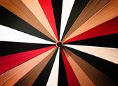 抽象复古花伞 — 图库照片