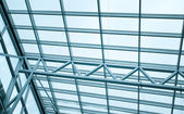 View up in business office, roof background — Stock Photo