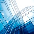 Glass business center — Stock Photo