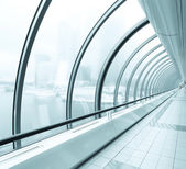 Transparent hallway — Stock Photo