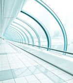 Transparent hallway — Stock Photo