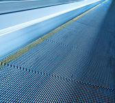 Texture of moving escalator — Stock Photo
