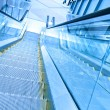 Stock Photo: Escalator in business center