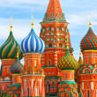 Stock Photo: Saint Basil's Cathedral, Russia