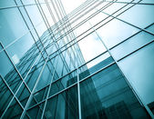 Steel glass high-rise building — Stock Photo