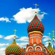St. Basil's Cathedral on Red square, Moscow, Russia — Stock Photo #25348323