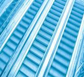 Pohyblivý eskalátor — Stock fotografie
