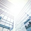 Stock Photo: Sunny high successful business centers, construction concept