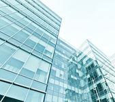 Exterior of modern glass business center — Stock Photo